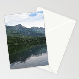 Summit Lake Scenic I -Natue Scenery Stationery Cards