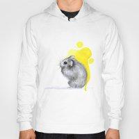 hamster Hoodies featuring hamster by Konstantina Louka