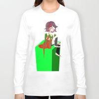 chihiro Long Sleeve T-shirts featuring Chihiro Fujisaki by hellokittyloli