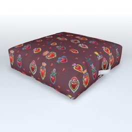 My Heart's Desire Outdoor Floor Cushion