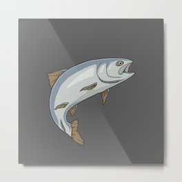 Trout - by Rui Guerreiro Metal Print