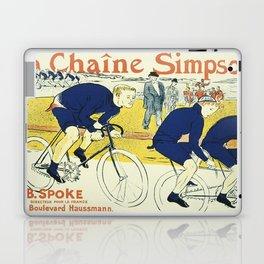 Vintage poster - La Chaine Simpson Laptop & iPad Skin