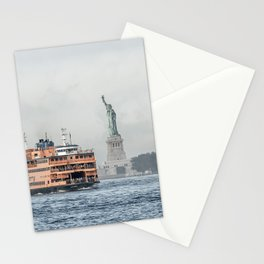 Staten Island Ferry & Statue of Liberty Stationery Cards
