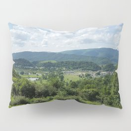 Shenandoah mountains of Virginia photograph by Katy Christoff Pillow Sham