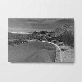 Rugged Roadway Metal Print