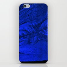 Blue frost iPhone & iPod Skin