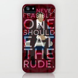 Hannibal - Hannibal Lecter iPhone Case