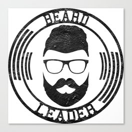 Beard leader Canvas Print