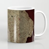 the goonies Mugs featuring Goonies Treasure Map by IndestrucTibBo