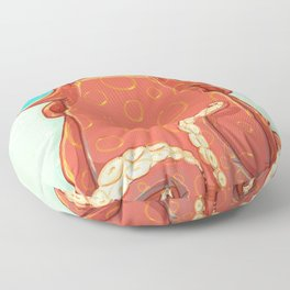 Goldie the Octopus Floor Pillow