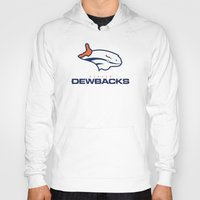 nfl Hoodies featuring Denver Dewbacks - NFL by Steven Klock
