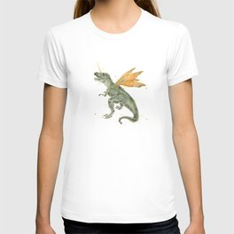 T-Rex with Fairy Wings T-shirt