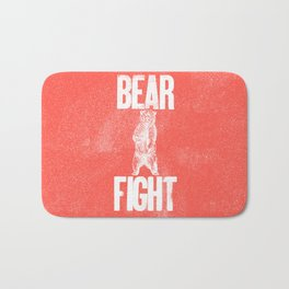 Bear Fight Bath Mat