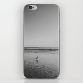 HALF MOON BAY (B+W) iPhone Skin