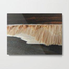 Fragmented Wood Metal Print