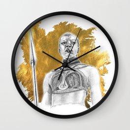 Okoye Warrior Woman #Blackpanther #wakanda Wall Clock