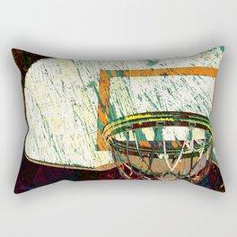 Basketball vs 13 Rectangular Pillow