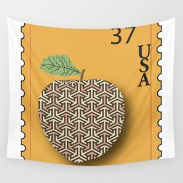 Patterned Apple Wall Tapestry