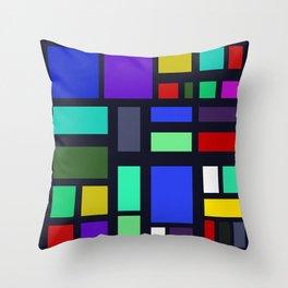 Square Bob Throw Pillow