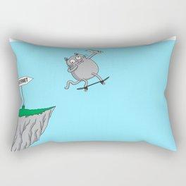 Internet literally (cat edition) Rectangular Pillow