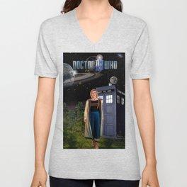 13th Doctor Unisex V-Neck