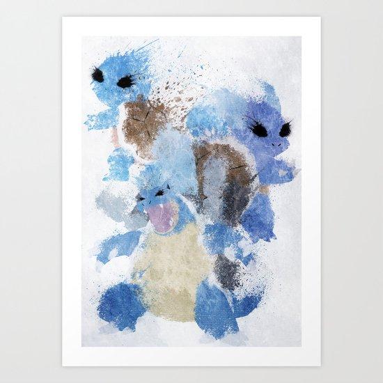 Hydro Pump Art Print