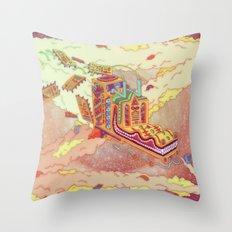 The Lotus Eater. Throw Pillow