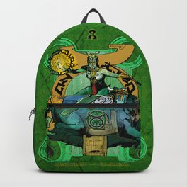"Ars Tarot of the 12 Zodiac: ""Taurus - The Hierophant"" Backpack"
