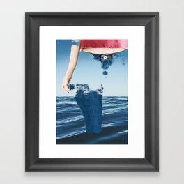 jeans Framed Art Print