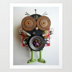 Space Bug Art Print