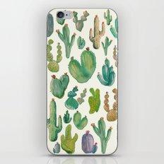 cactus collab iPhone & iPod Skin
