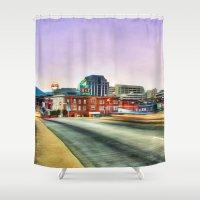 virginia Shower Curtains featuring Roanoke Virginia by ThePhotoGuyDarren