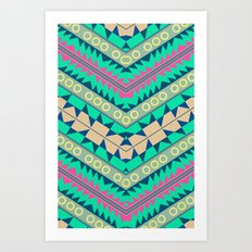 Electric Eye Art Print