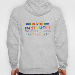I'm Straight And I Support LGBTIQ Hoody