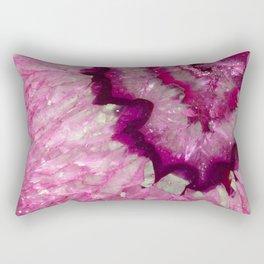Crystal magenta Rectangular Pillow