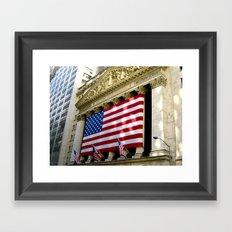 Stock Exchange Framed Art Print