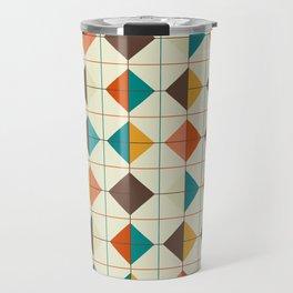 Retro Tiles #1 Travel Mug