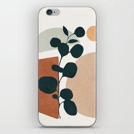 Soft Shapes V iPhone Skin