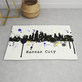Kansas City Skyline Rug