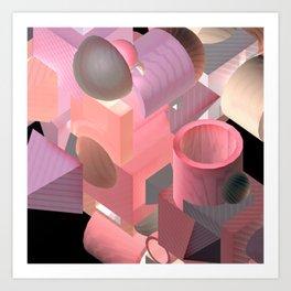 invisible.diva Art Print