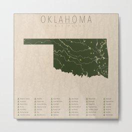 Oklahoma Parks Metal Print
