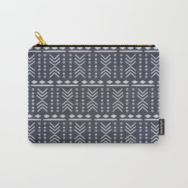 Denim Mudcloth Carry-All Pouch
