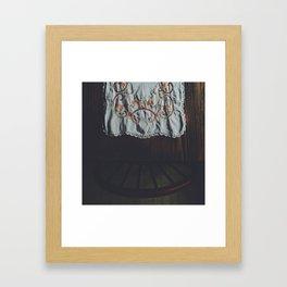 Evening Kitchen Framed Art Print