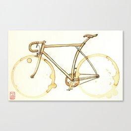 Coffee Wheels #09 Canvas Print