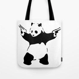 Panda, Banksy, Graffitti Tote Bag