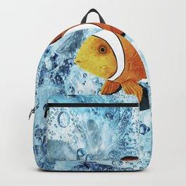 Illustration of Nemo Clown Fish Backpack