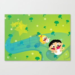 Music for Babies Canvas Print
