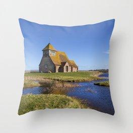 St. Thomas a Becket Throw Pillow