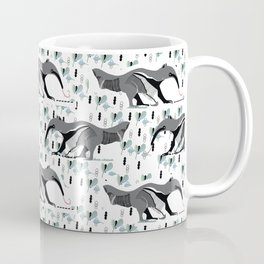 Sweet Anteater and ant design pattern Coffee Mug