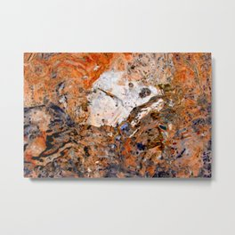 Water art 243 Metal Print